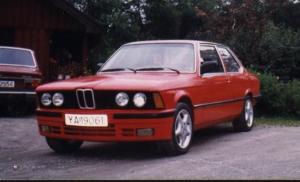 BMW 320 E21 -79 1