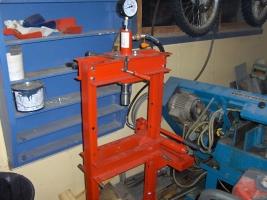 10-tons-hydralikkpresse