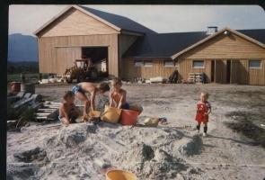 Lek i sanden