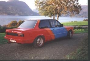 BMW 323 E21 fargekart 3