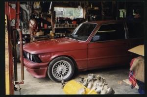 BMW 323 E21 fargekart 5