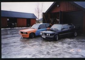 BMW 323 E21 fargekart 6